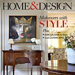"""Interior Design Illustration featured in """"Home & Design"""" Magazine"""