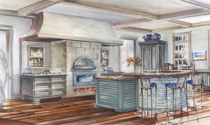 Kitchen Concept Sketch