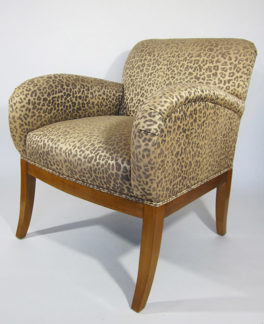 Cheetah chair