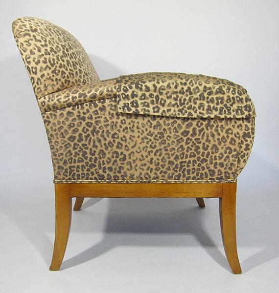 Cheetah Chair side view