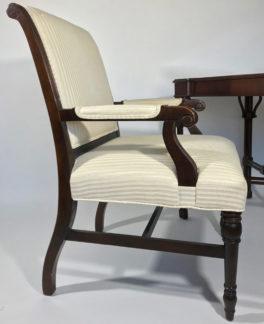 Drexel Heritage Desk Chair - side view
