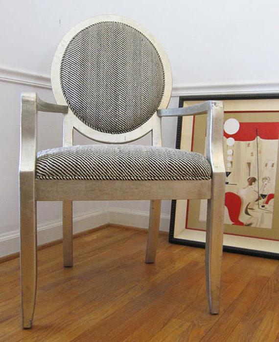 Drexel Heritage Vintage Harris Herringbone Tweed
