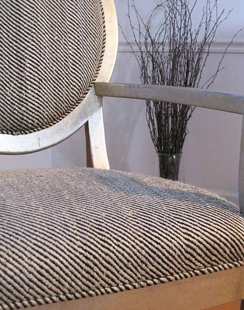 Drexel Heritage Vintage Harris Herringbone Tweed detail