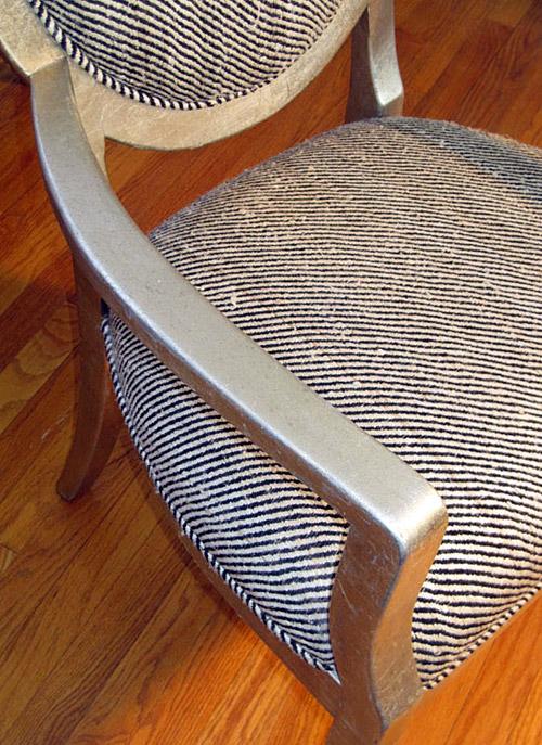 Drexel Heritage Vintage Harris Herringbone Tweed seat