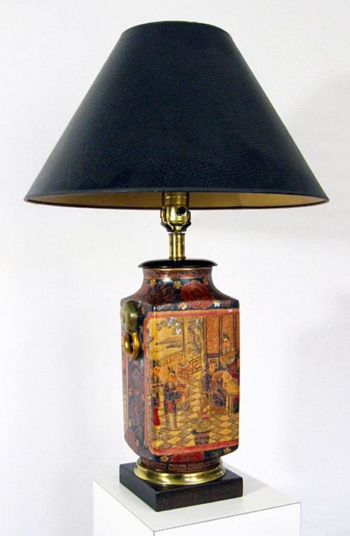 Frederick Cooper Chinoiserie Lamp with shade