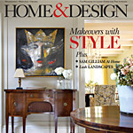 "Interior Design Illustration featured in ""Home & Design"" Magazine"