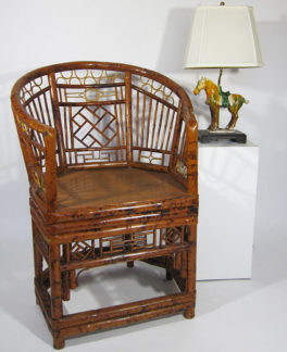 Bamboo Chair - front view