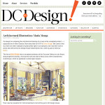 "Architectural Illustration Featured in ""DC by Design"" Blog"