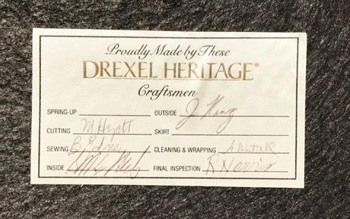 Drexel Heritage Label