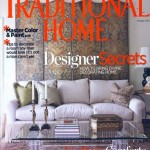 "Interior Design Conceptual Drawing Featured in ""Traditional Home"" Magazine"