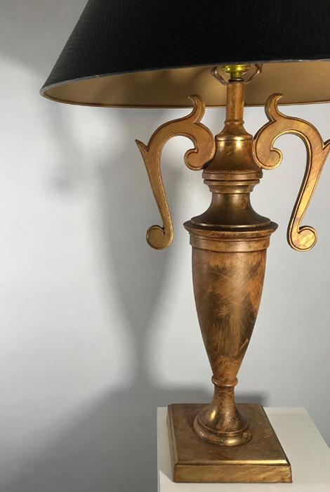 Vintage Fleur-de-lis Lamp body